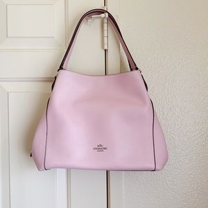 NWT Coach Pink Edie Shoulder Bag
